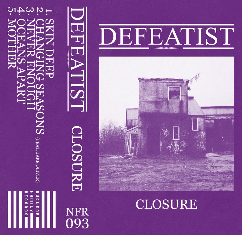 """Image of NFR093 - Defeatist """"Closure"""" Cassette"""