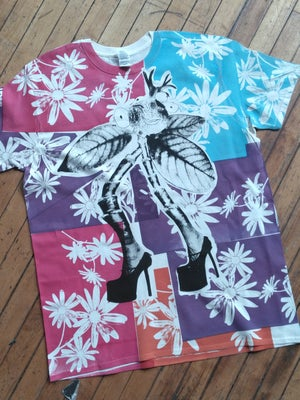 Image of Hot House Heels Floral T [XL]