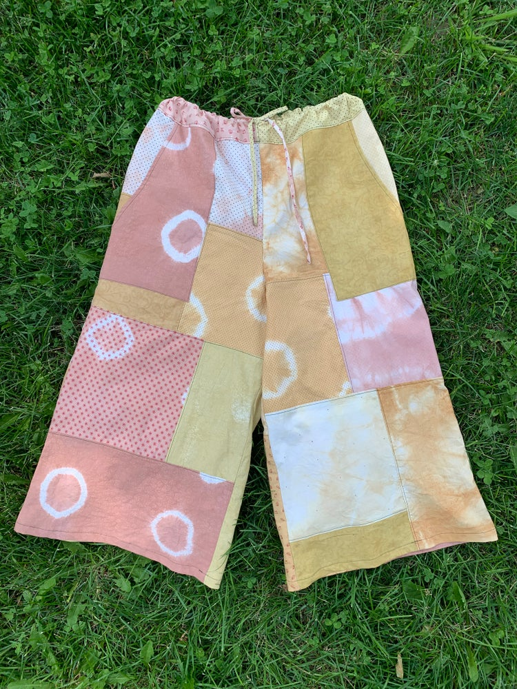 Image of Patchwork Cosmos Spinner Pants ✨🌪