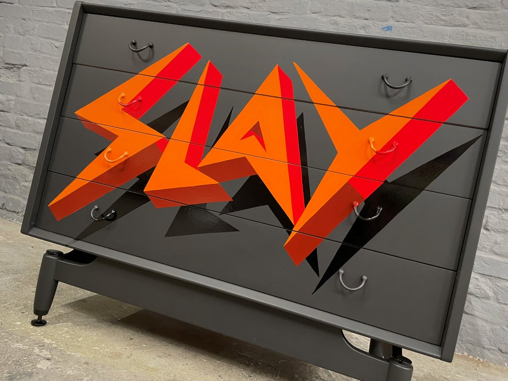Image of Vintage G Plan Chest of Drawers SLAY