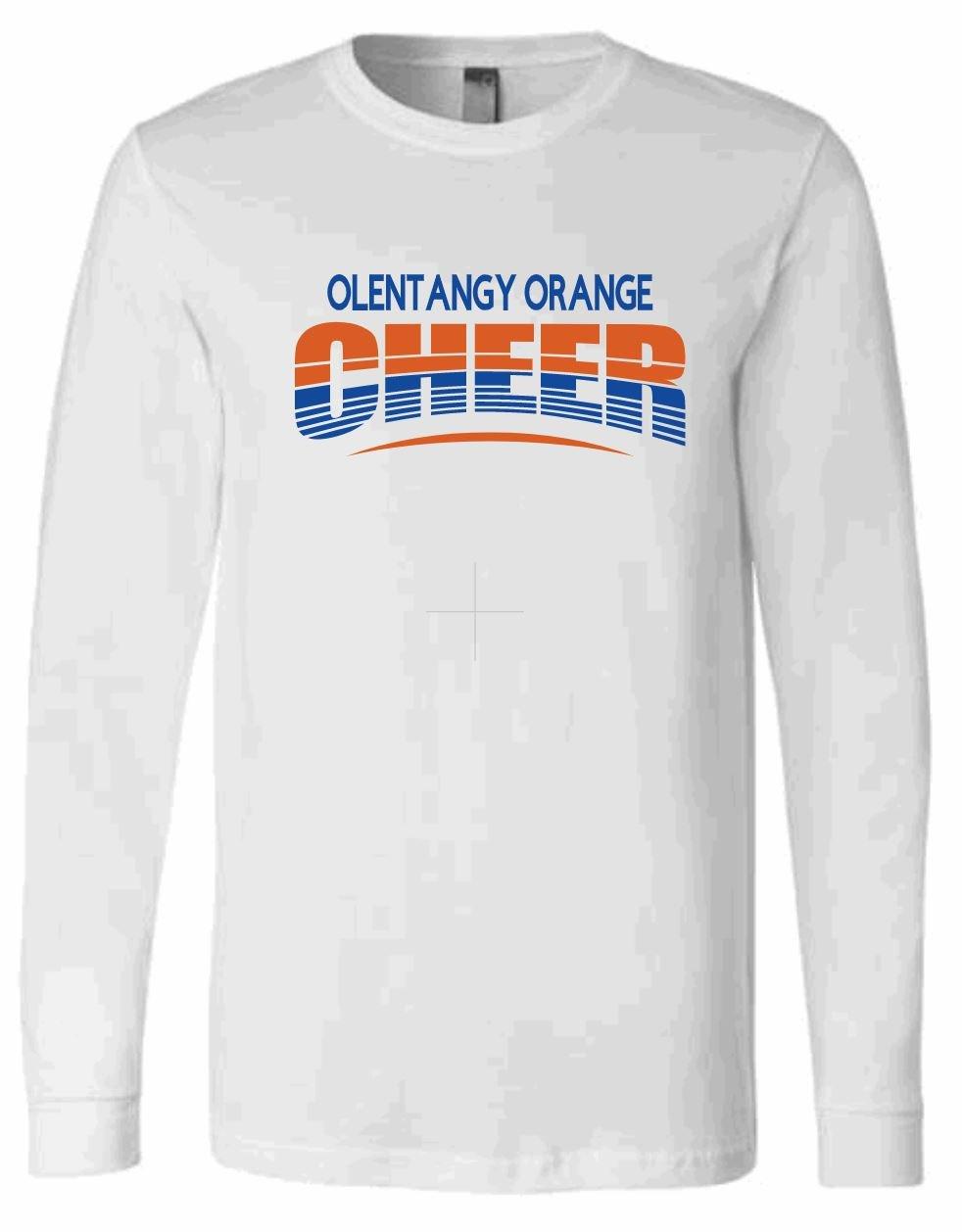 Image of Orange Cheer Unisex Long Sleeve