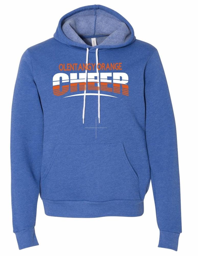 Image of Orange Cheer Unisex Hooded Sweatshirt
