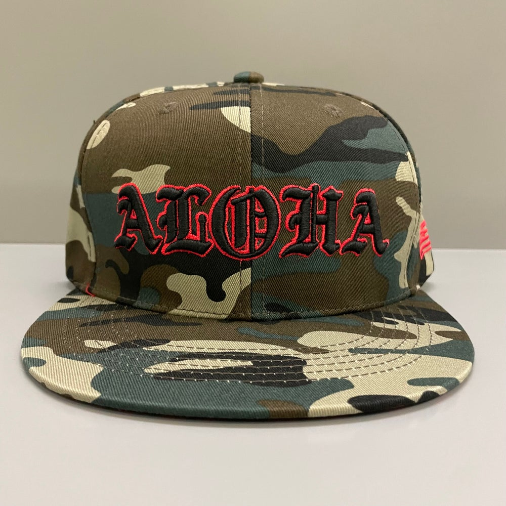 Image of Tattoo's By Bong Camo Snapback Hat