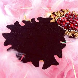 """Image of """"Sagrado Corazon"""" Earrings"""