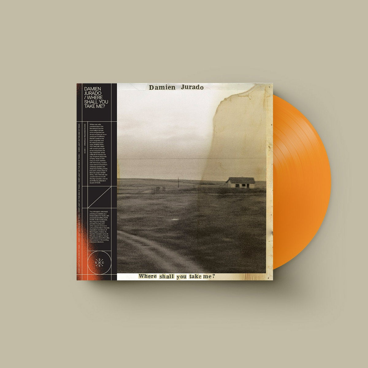 Image of Where Shall You Take Me? / Opaque Orange vinyl (Limited edition)