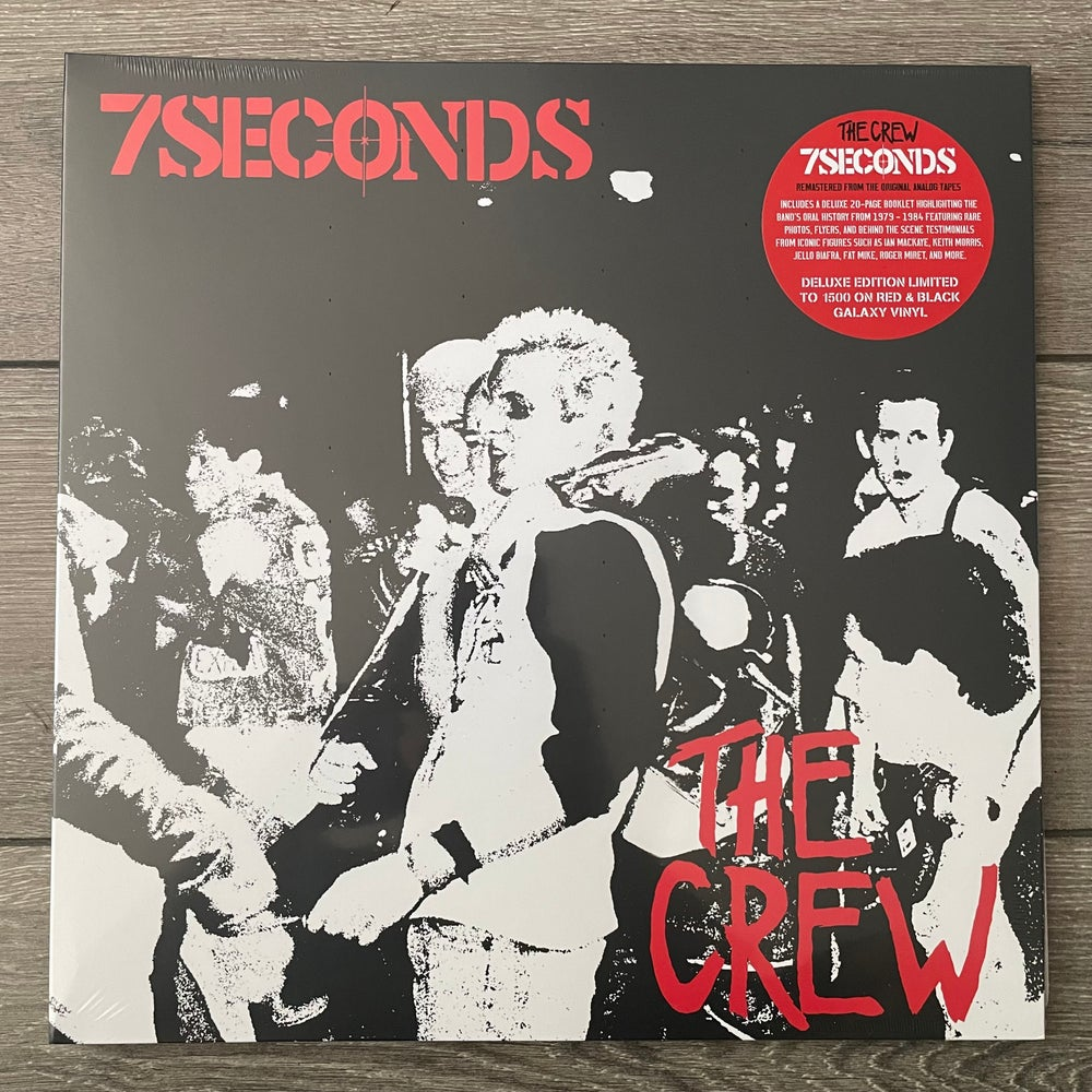 Image of 7 Seconds - The Crew Vinyl LP