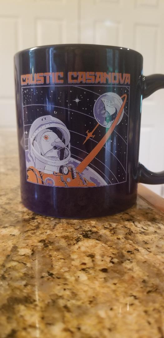 Image of God How I Envy This Mug PLUS FREE BUZZ CASTLE COFFEE