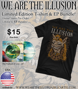 Image of The Podium of Lies EP/T-shirt Bundle!