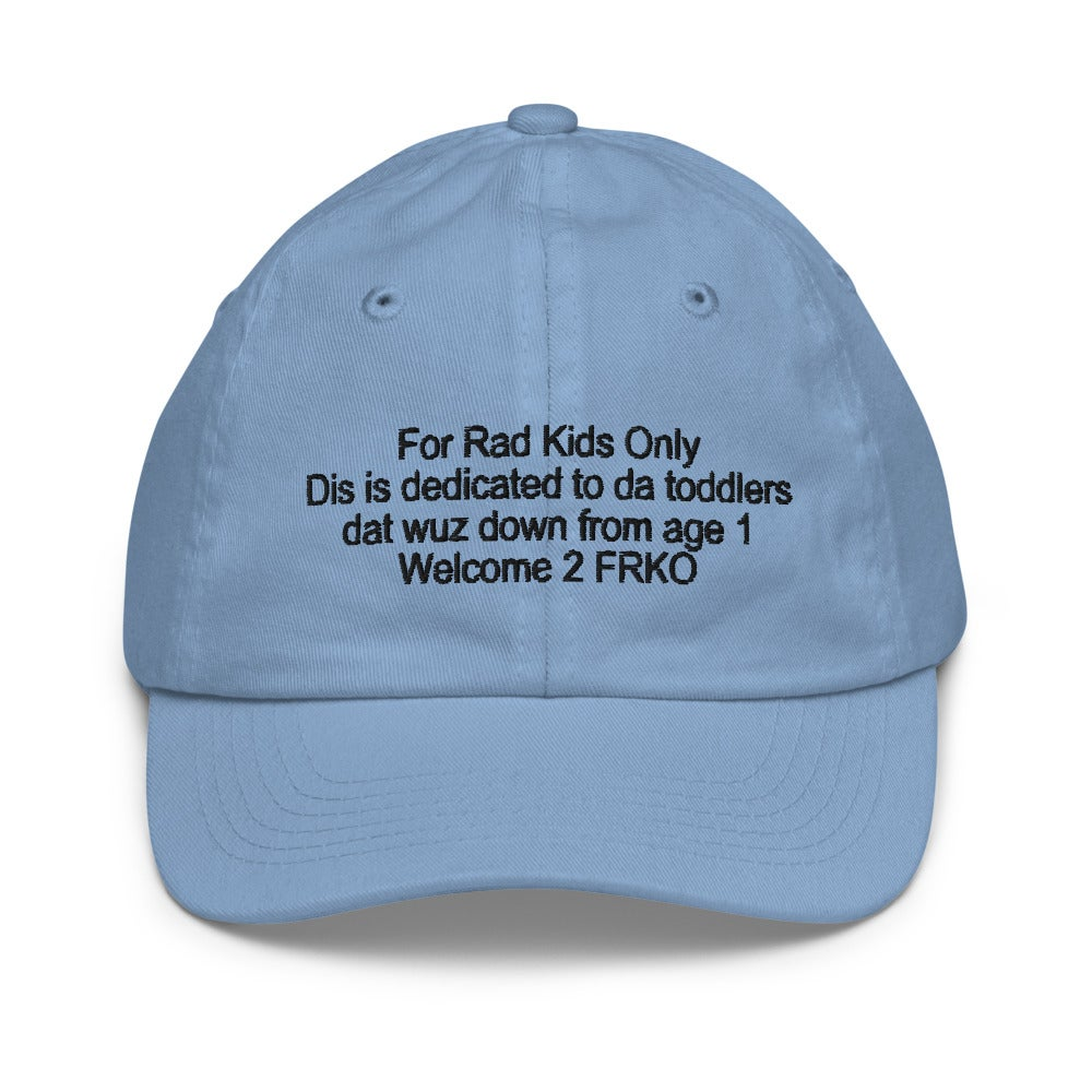 Image of For Rad Kids Only hat