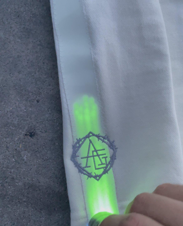 Image of Cream🍦  glow in the dark SHORTS
