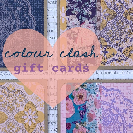 Image of colour clash gift card
