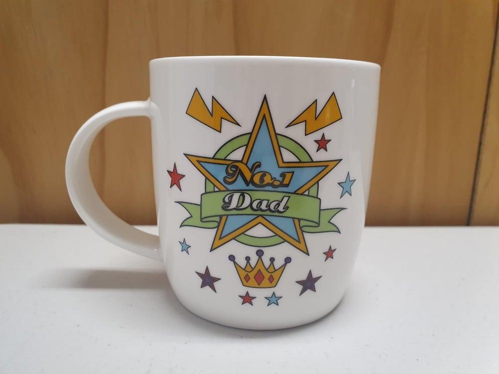 Image of No. 1 Dad mug
