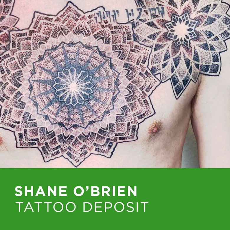 Image of Tattoo Deposit for Shane O'Brien