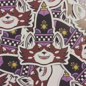 The Escapades of Ponchi Panda vinyl Stickers