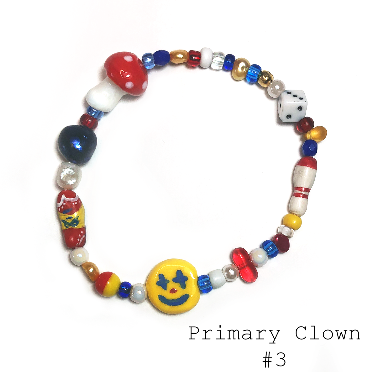 Image of Primary Clown Bracelet