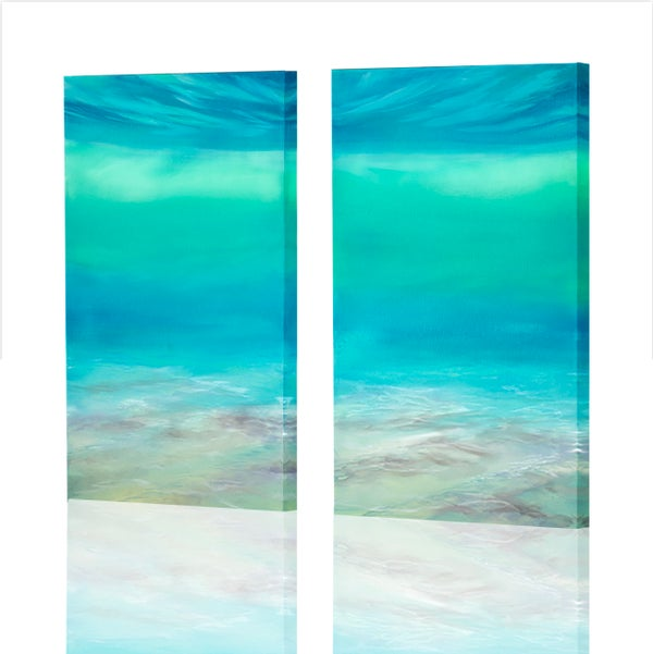 Image of Color Therapy Diptych, Giclee Print