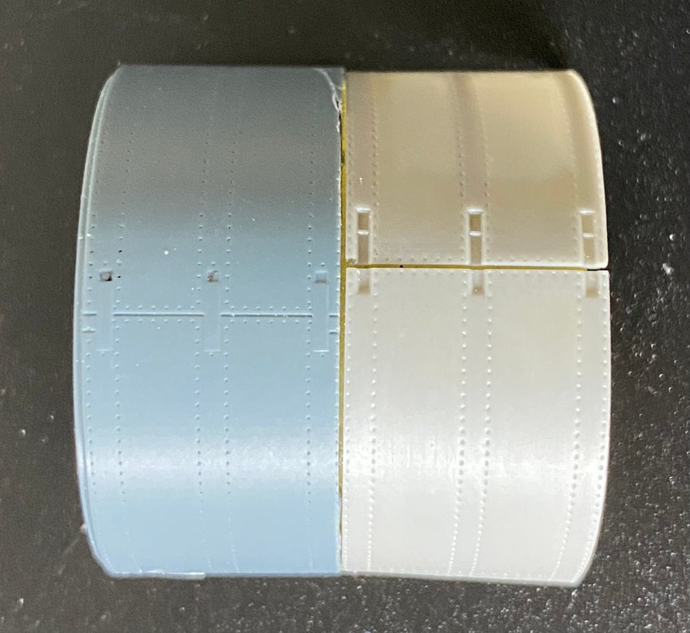 Image of Hawker Tempest Mk.II corrected cowling (FULL) for Special Hobby and Eduard kits