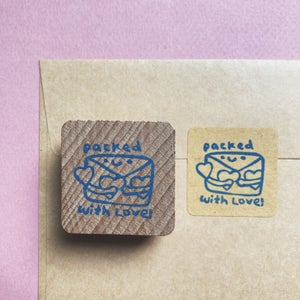 Packed With Love Mail Stamp