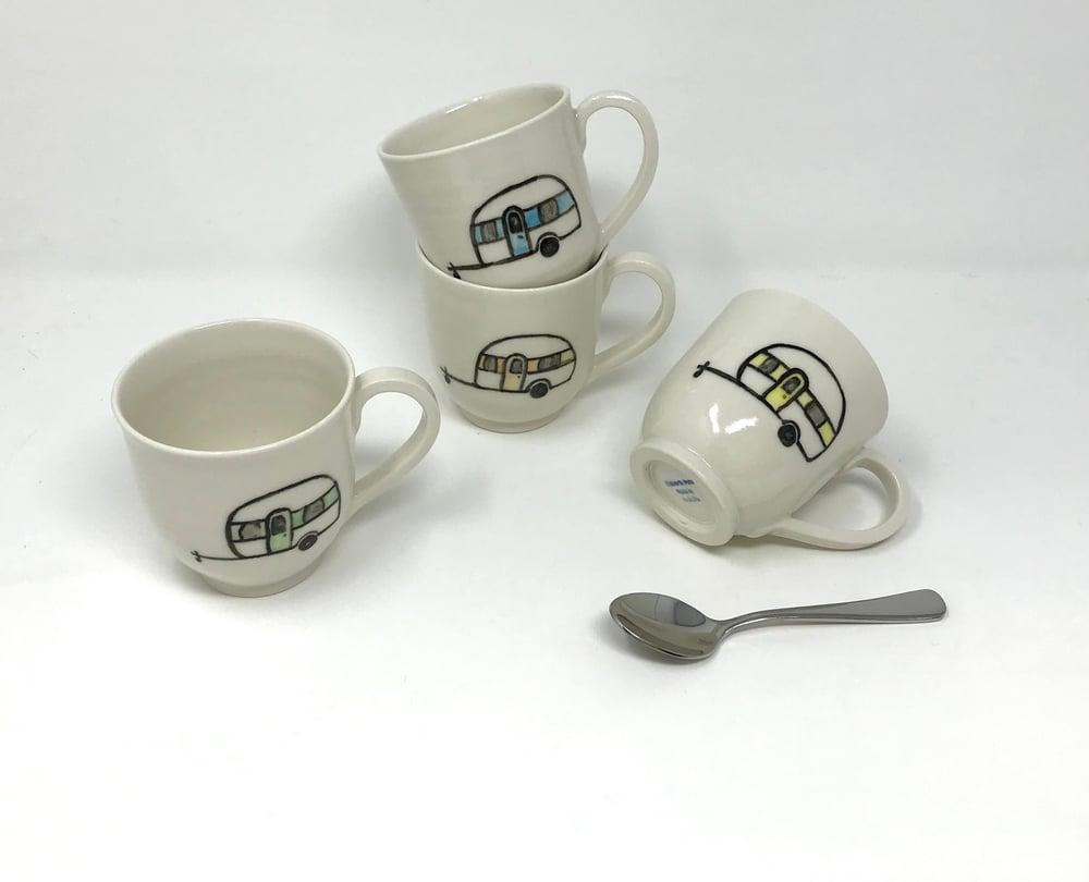 Image of Caravan decorated Small Mug