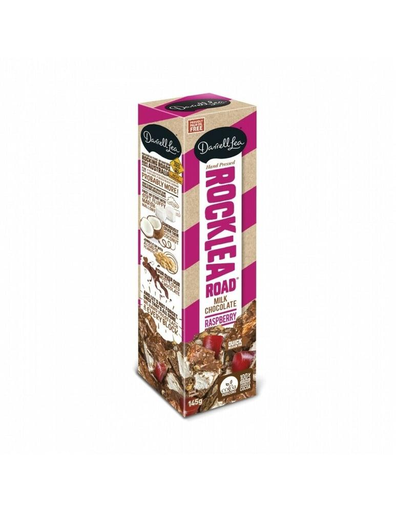 Image of Rocklea Road Raspberry Milk Chocolate 145g
