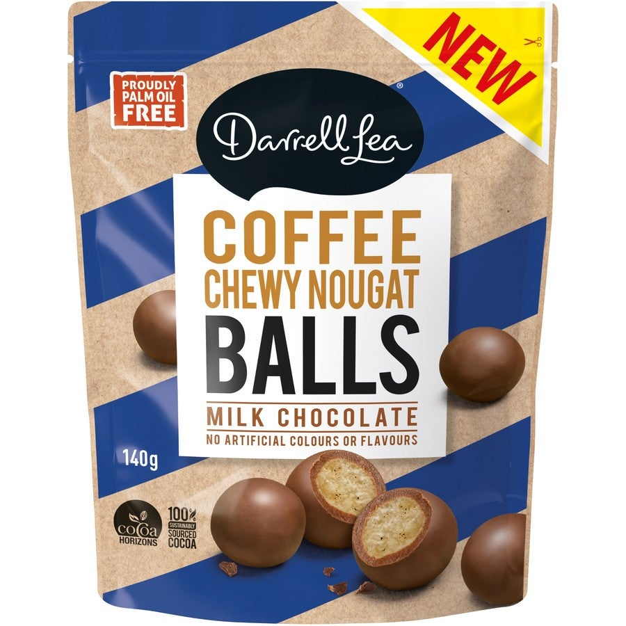 Image of Coffee Chewy Nougat Balls Milk Chocolate 140g