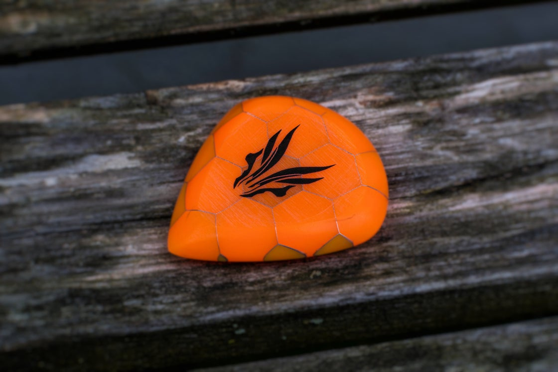 Image of Limited Edition 9mm 'Crystallized HONEYCOMB' plectrums