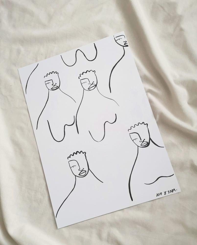 Image of women united print