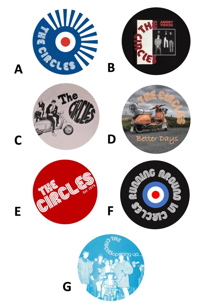 Image of Metal Button Badges