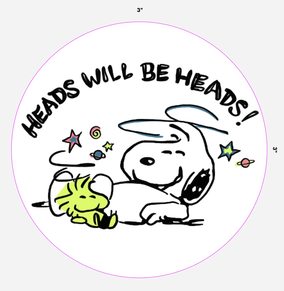 Image of HWBH Peanuts Decal