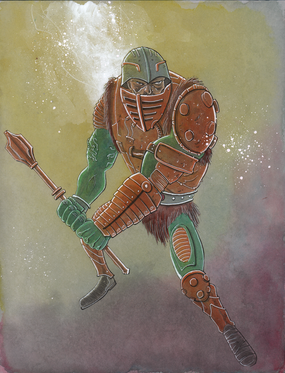 Image of HE-BROS 28. MAN-AT-ARMS