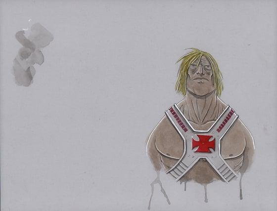 Image of HE-BROS HE-MAN STICKER DESIGN