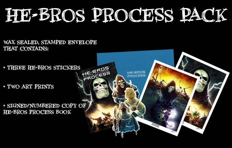 Image of HE-BROS PROCESS THE COLLECTION