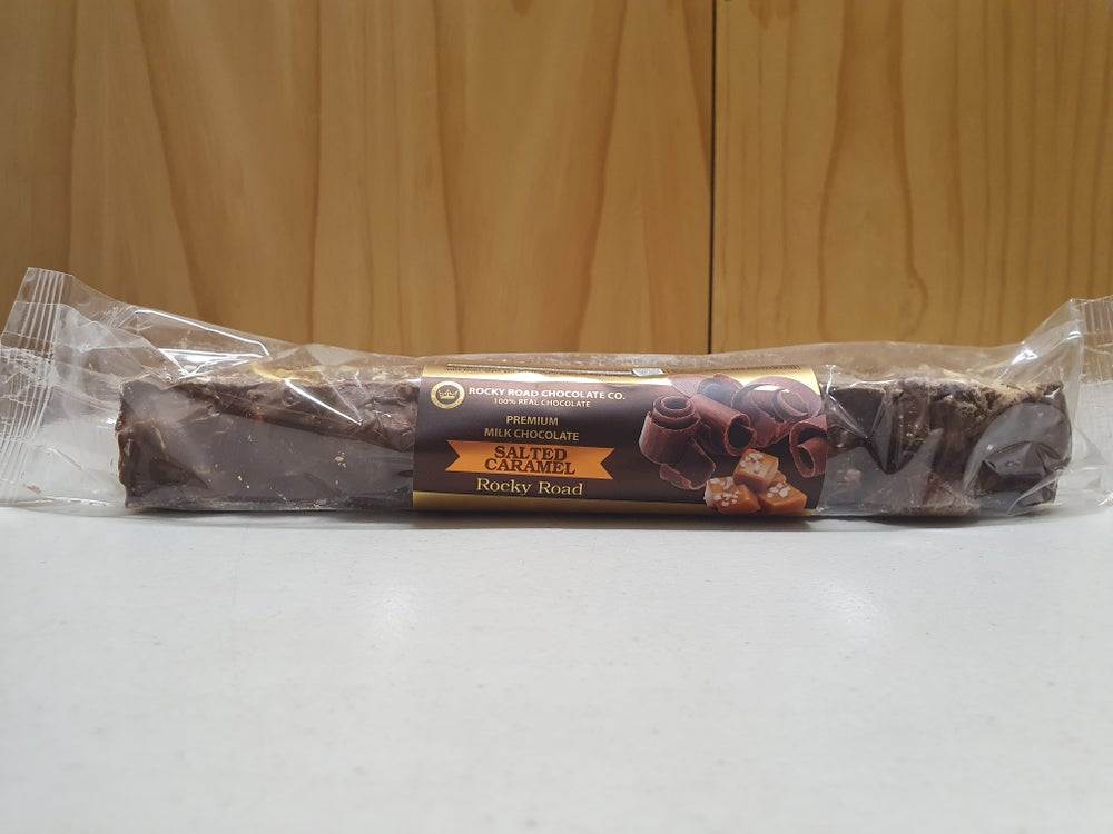 Image of Salted Caramel Milk Chocolate Rocky Road 200g