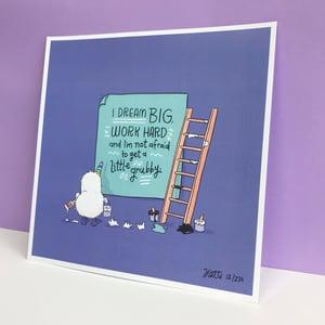 LIMITED EDITION - Kiwicorn Print - 'Dream Big'