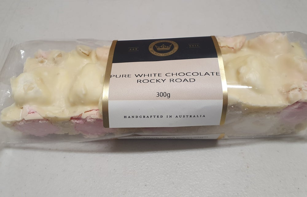 Image of White Chocolate Rocklea Road 300g