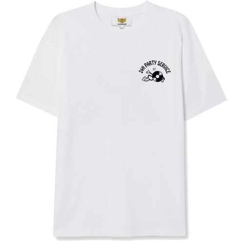 """Image of """"24h Party Service"""" Shirt - white"""