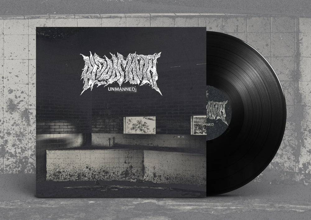 """Bloodmouth """"Unmanned"""" LP"""