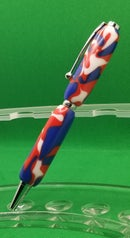 Image 1 of Red, White, Blue Acrylic