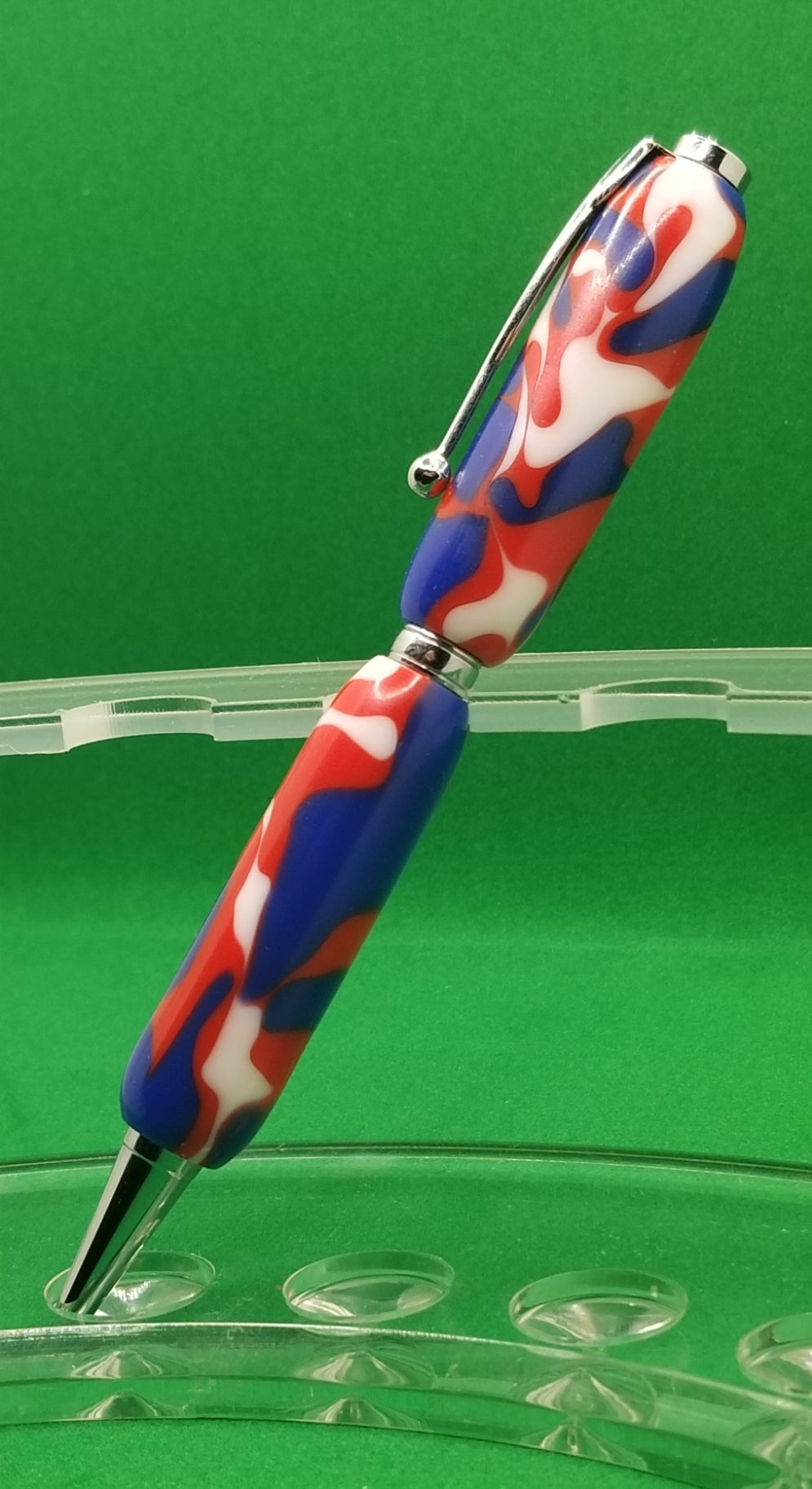 Image of Red, White, Blue Acrylic
