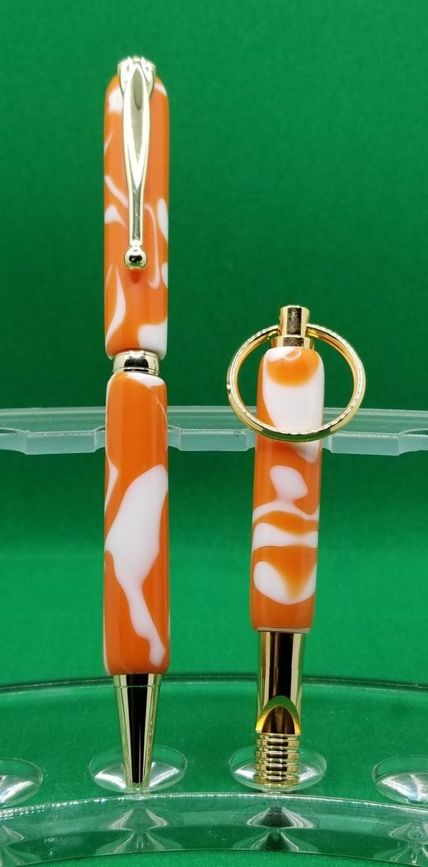 Image of Orange Cream acrylic set