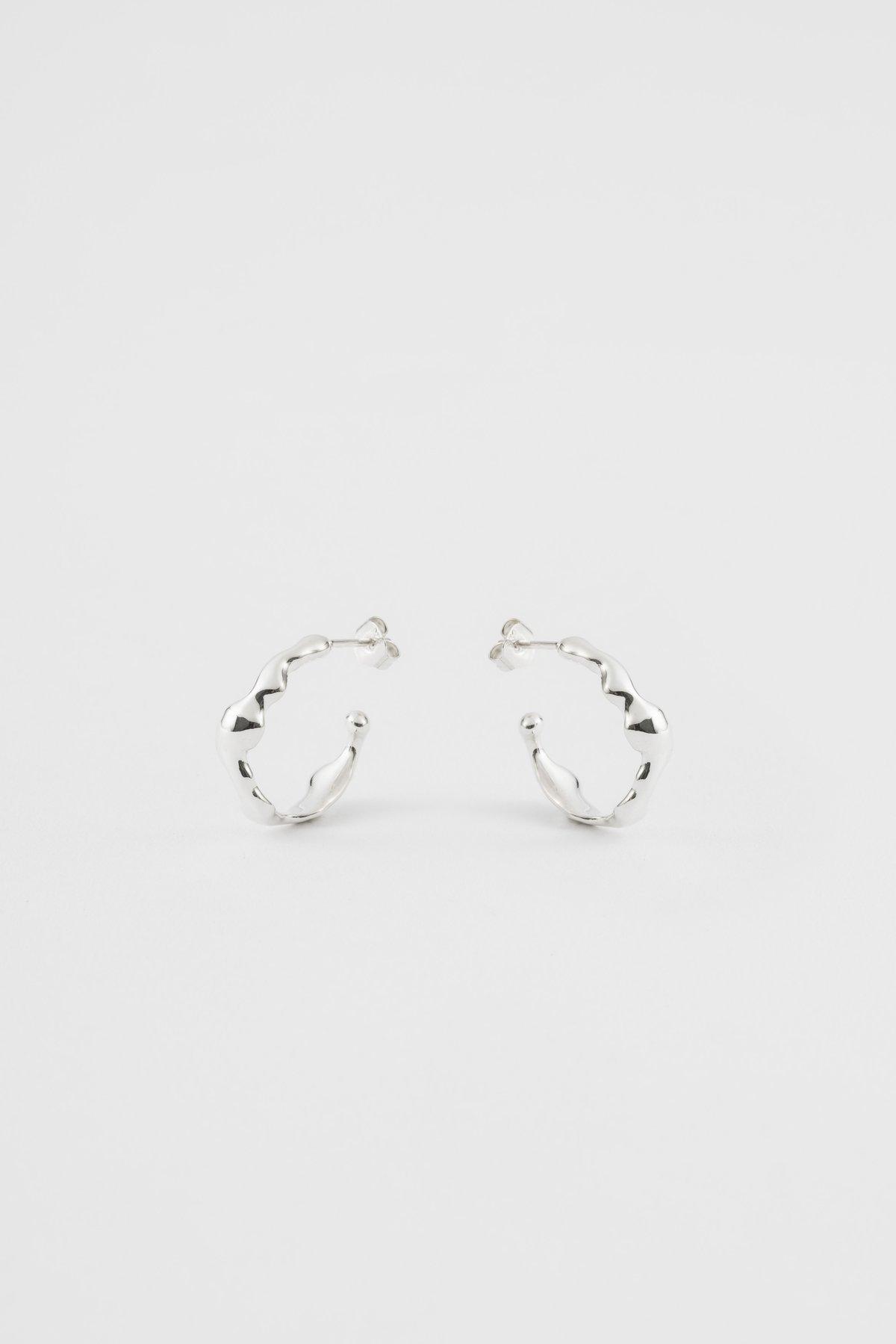 Image of ripple earrings