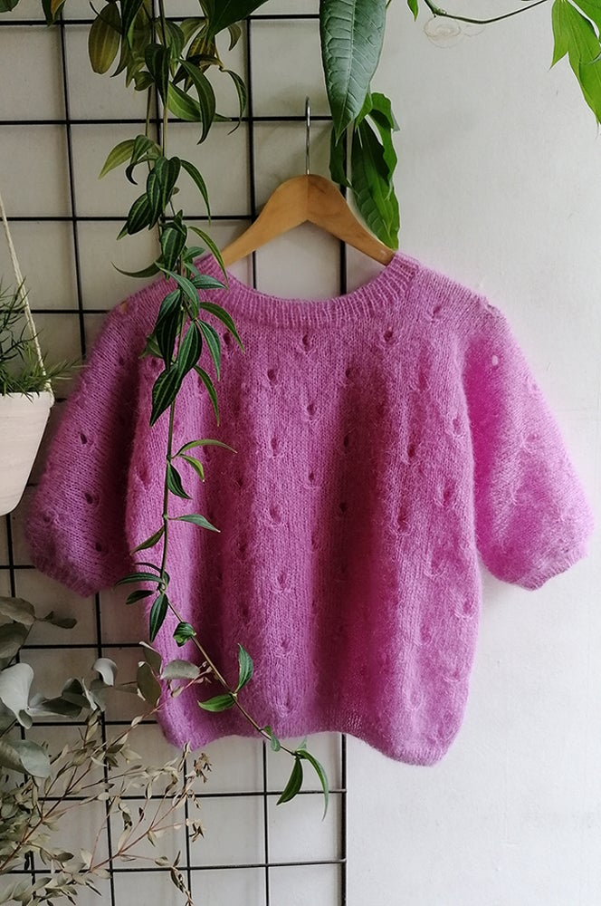 Image of New ! -- PATRON : FLOWERFIELDS Sweater --