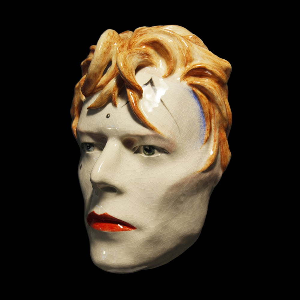 'Ashes To Ashes' David Bowie Mask