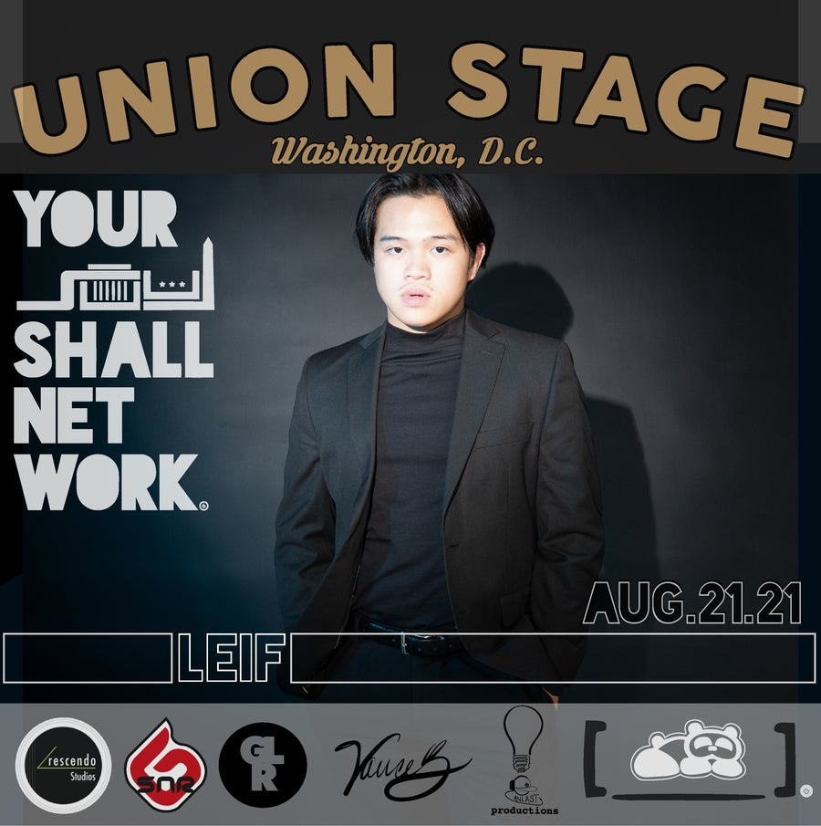 Image of LEIF | Union Stage August 21st