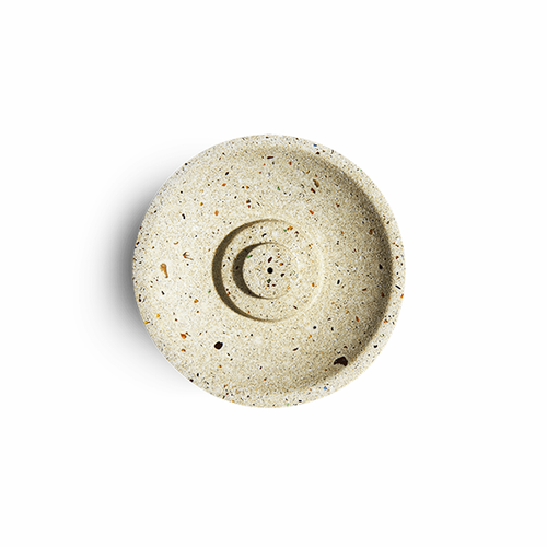 Image of White Terrazzo Incense Holder