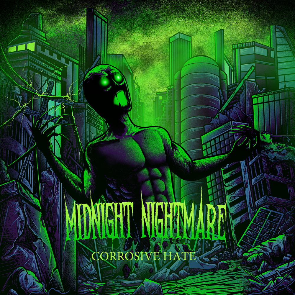 Image of Corrosive Hate Album (Limited Physical Release)