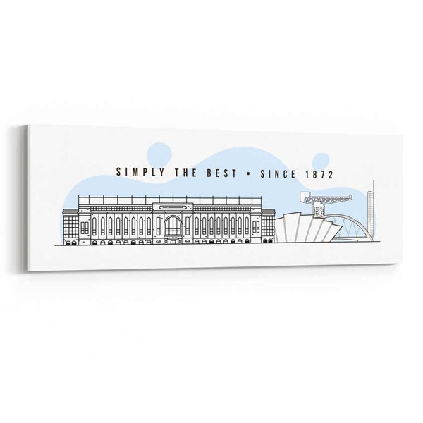 Image of Simply The Best - Ibrox Skyline