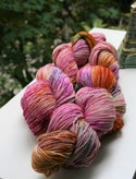 Limited Edition Anniversary Paint + Rinse Colorway - hand painted/dyed yarn