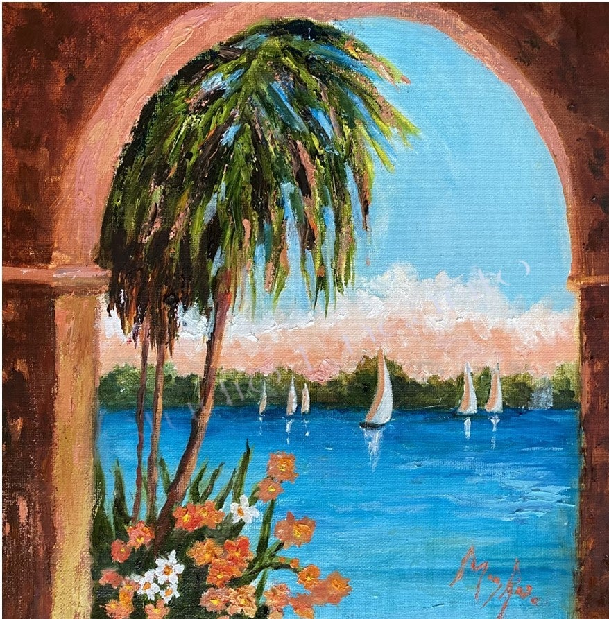 Image of View from The Vinoy by Mary Rose Holmes