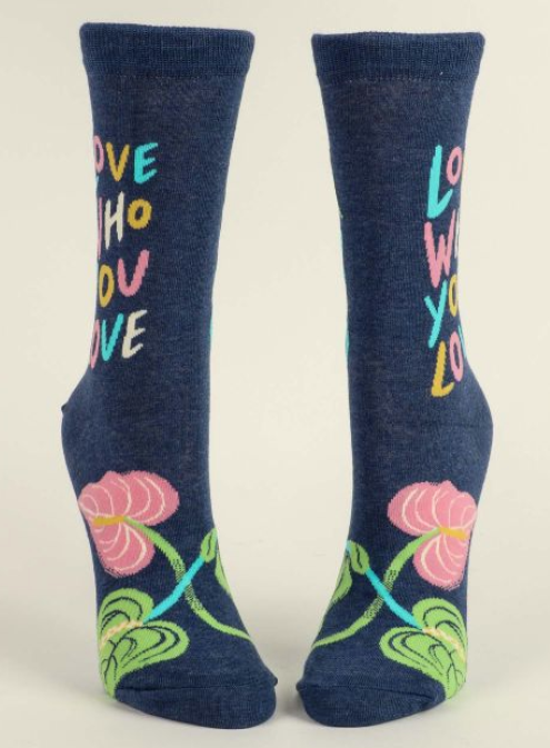 Image of Love Who You Love Crew Socks